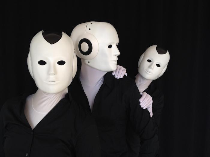 Humanoid Robot costume three robots