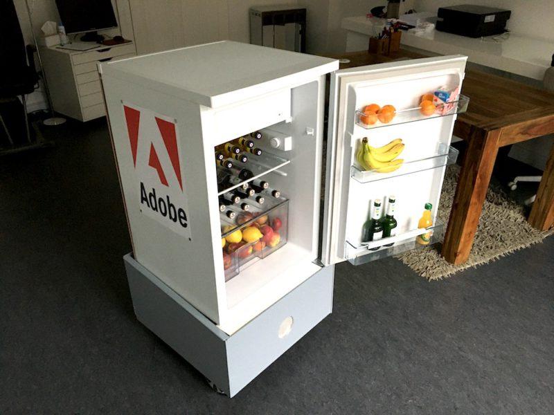 talking fridge